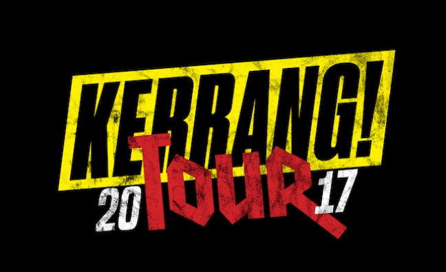 Line-up for The Kerrang! Tour 2017  announced
