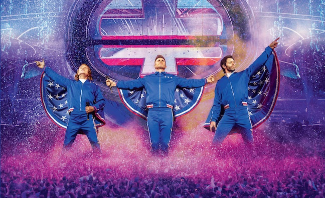 Take That score biggest live music DVD sale of 2019