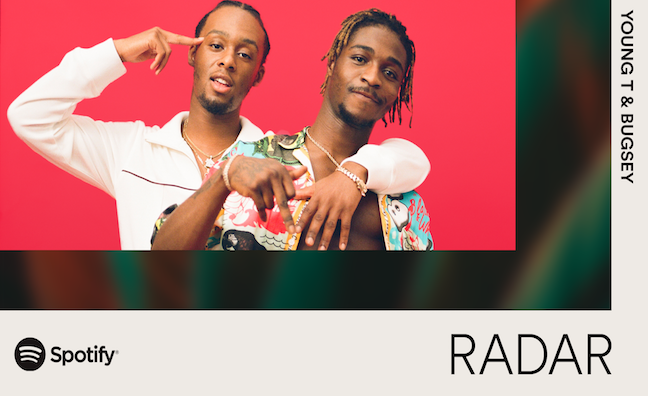 Spotify launches Radar campaign with Young T & Bugsey