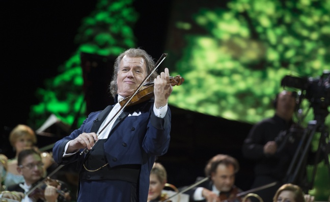 André Rieu screening breaks box office record