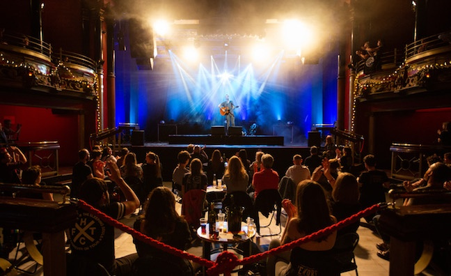 Clapham Grand boss reveals plans for socially distanced gigs