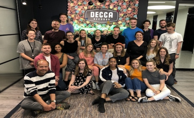Decca Records takes on three peaks challenge in support of new Decca bursary