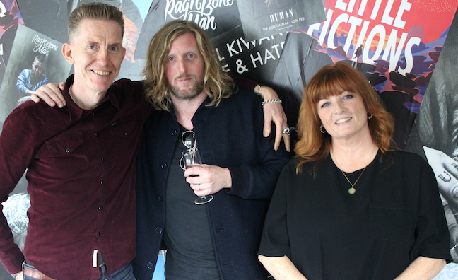 Andy Burrows signs publishing deal with Warner/Chappell