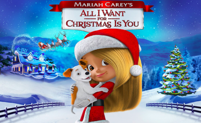 Mariah Careys All I Want For Christmas Is You.Music Week