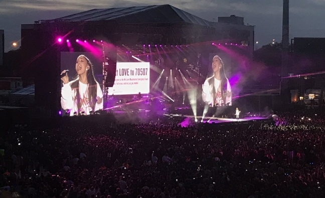 Ariana Grande One Love Manchester show draws TV audience of 10.9 million
