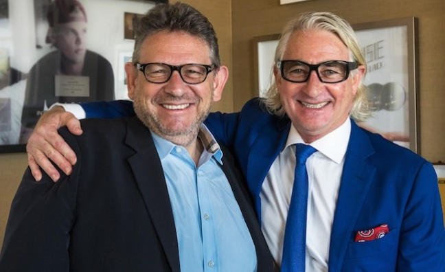 Sir Lucian Grainge pays tribute to INXS manager Chris Murphy