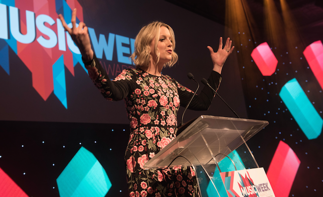 Revisit Music Week Awards host Lauren Laverne's storming speech