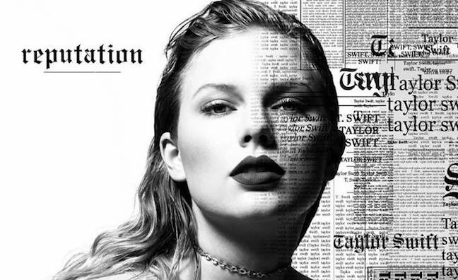 Taylor Swift's Reputation sells 1.2m in US