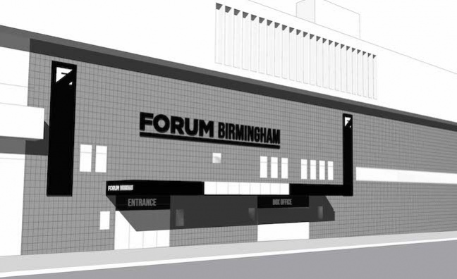 Global Venues to open 3,500-capacity Forum Birmingham