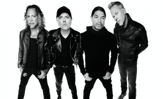 Metallica to open London pop-up store
