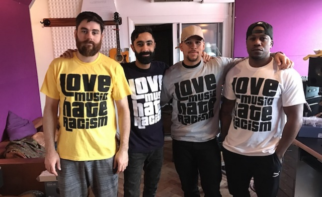 Love Music Hate Racism announces Beautiful Resistance campaign