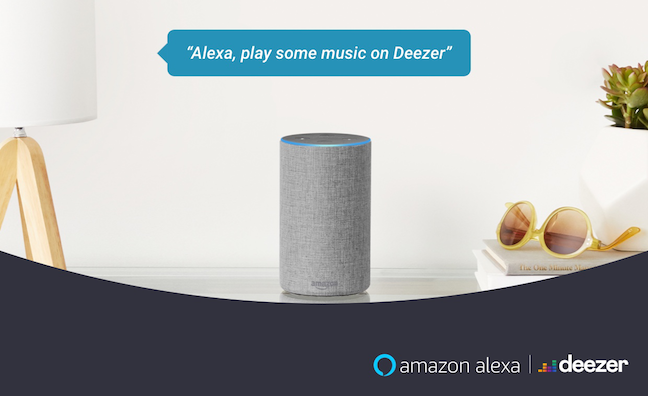 Deezer teams with Alexa for free users