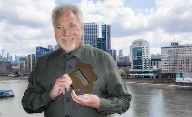 Tom Jones sets chart record with No.1 album