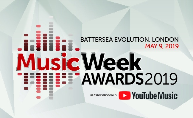 2019 Music Week Awards finalists revealed...