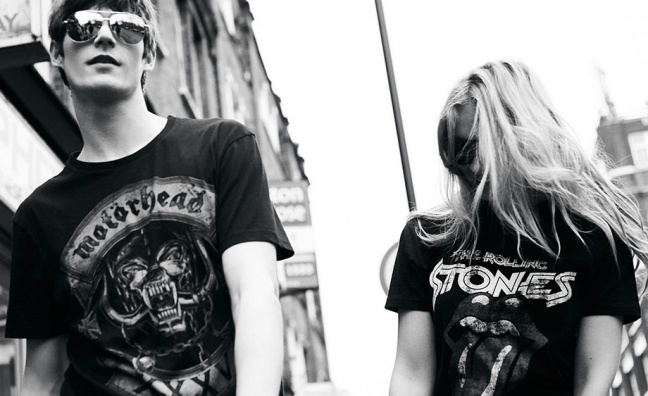 Rock'n'Roll High Street: How the metal T-shirt became a fashion staple
