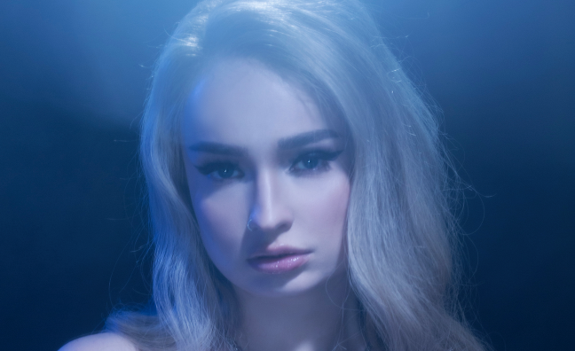 Kim Petras hits Music Moves Europe Talent Top 5