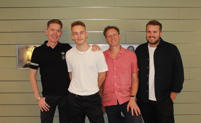 'Our ambitions match his': Lostboy signs to Warner Chappell Music