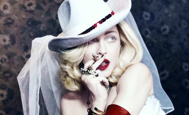 Madonna lines up London Palladium residency in 2020