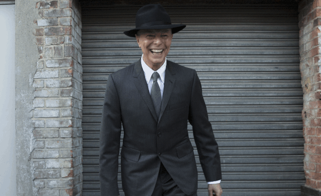 David Bowie revealed as the UK's most popular recording artist of 2016