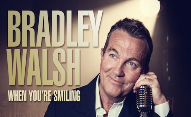 Bradley Walsh reveals details of second album, When You're Smiling