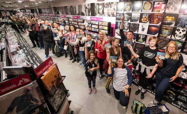 Local news: HMV opens up in-stores to unsigned bands