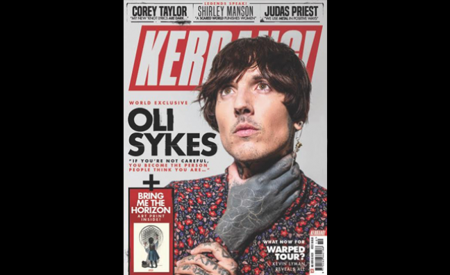 Kerrang! unveils magazine redesign as editorial team expands and US office opens