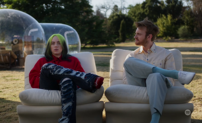 Billie Eilish and Finneas unveil Spotify HiFi