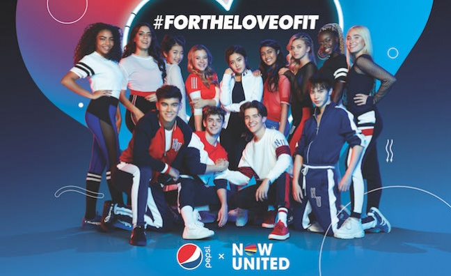 Simon Fuller's Now United partners with Pepsi