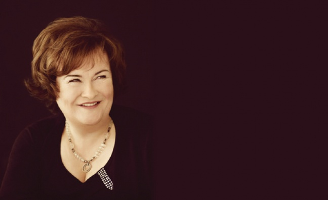 susan boyle announces new album ten talent music week. Black Bedroom Furniture Sets. Home Design Ideas