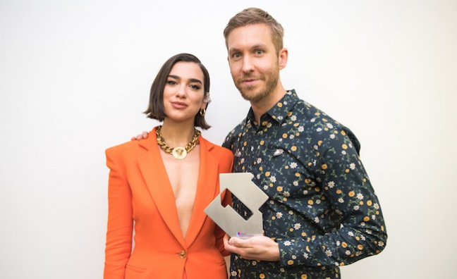 Dua Lipa and Calvin Harris top 2018 singles sales