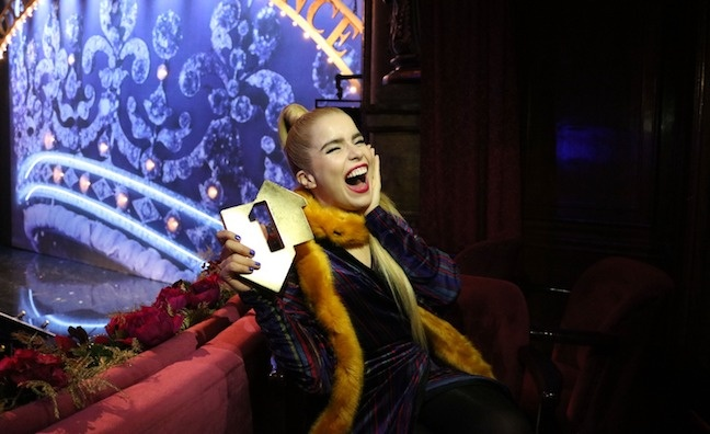 'It's a testament to hard work': Paloma Faith toasts her first No.1 album