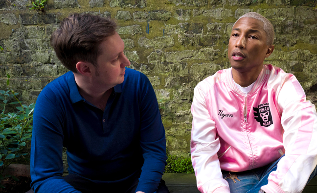 Pharrell Williams named chief creative officer at music start-up ROLI