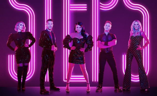 Steps sign new deal with BMG, reveal album and tour plans