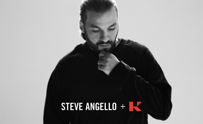 Kobalt Music signs worldwide label services deal with Steve Angello