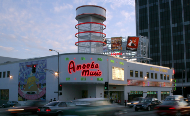 Postcards from LA, #2: Crate-digging at Amoeba Music