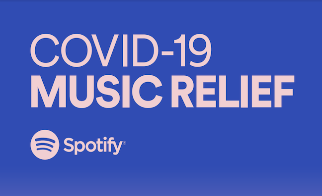Spotify launches Covid-19 Music Relief Project