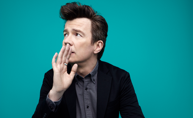 'I wanted to prove that 50 was no fluke': Rick Astley talks his return to the spotlight