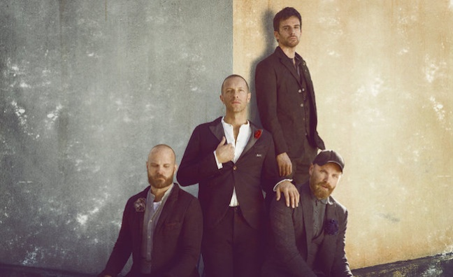 Coldplay score eighth No.1 album as Q4 pace picks up