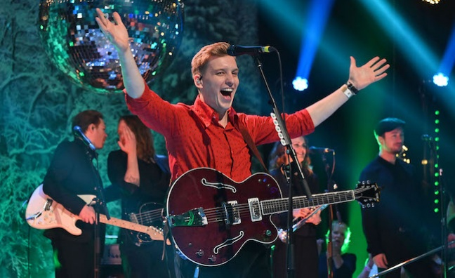 George Ezra, Anne-Marie and Sigrid help boost TOTP ratings