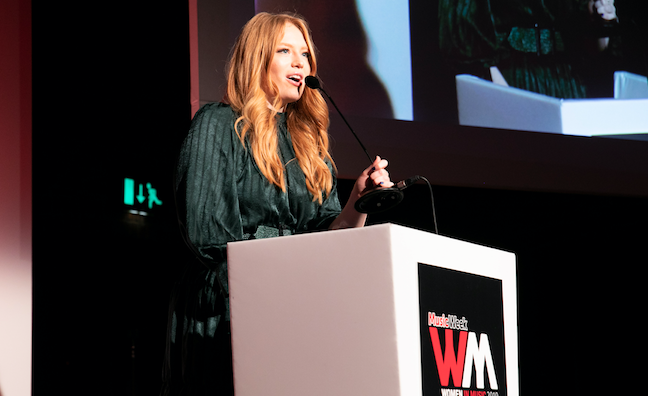 'This is for all the shy girls': Freya Ridings wins at Women In Music 2019
