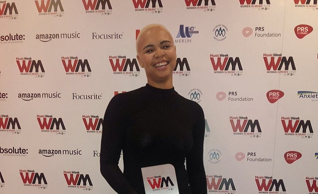 'The future is female': Women In Music Awards Rising Star Parris O'Loughlin-Hoste addresses the biz