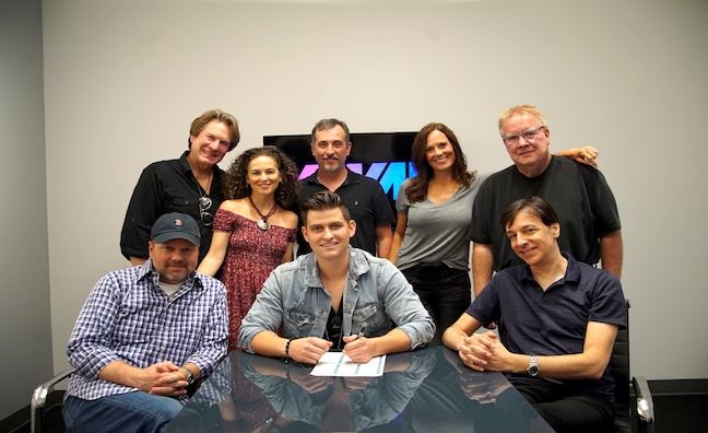 AWAL signs deal with rising country star Austin Burke