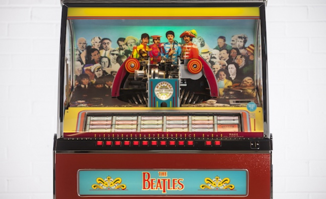 Sgt Pepper's jukebox to mark 50th anniversary