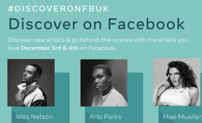 Arlo Parks, Mae Muller & more for Facebook new music project