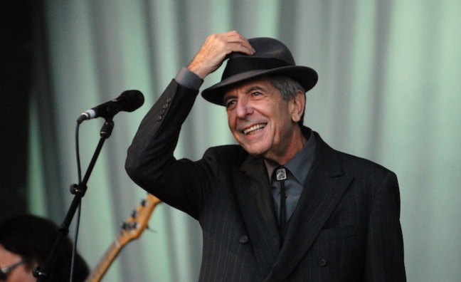 Leonard Cohen honoured at BBC Radio 2 Folk Awards