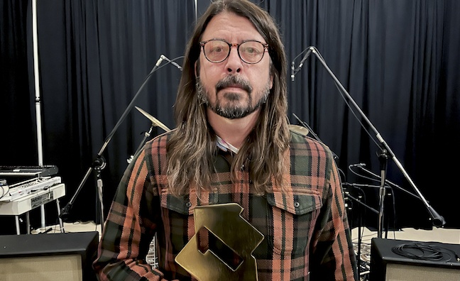 Foo Fighters score fifth No.1 album as UK career sales approach seven million