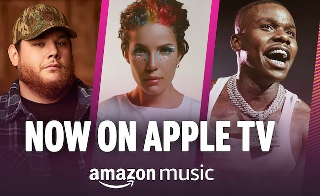 Amazon Music launches on Apple TV HD