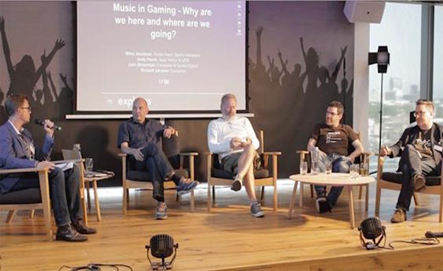 PRS for Music panel explores opportunities in gaming