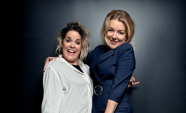 'She's a genius': Sheridan Smith talks co-writing with hitmaker Amy Wadge