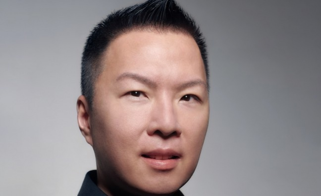 Eric Wong named president & CMO at Warner Recorded Music